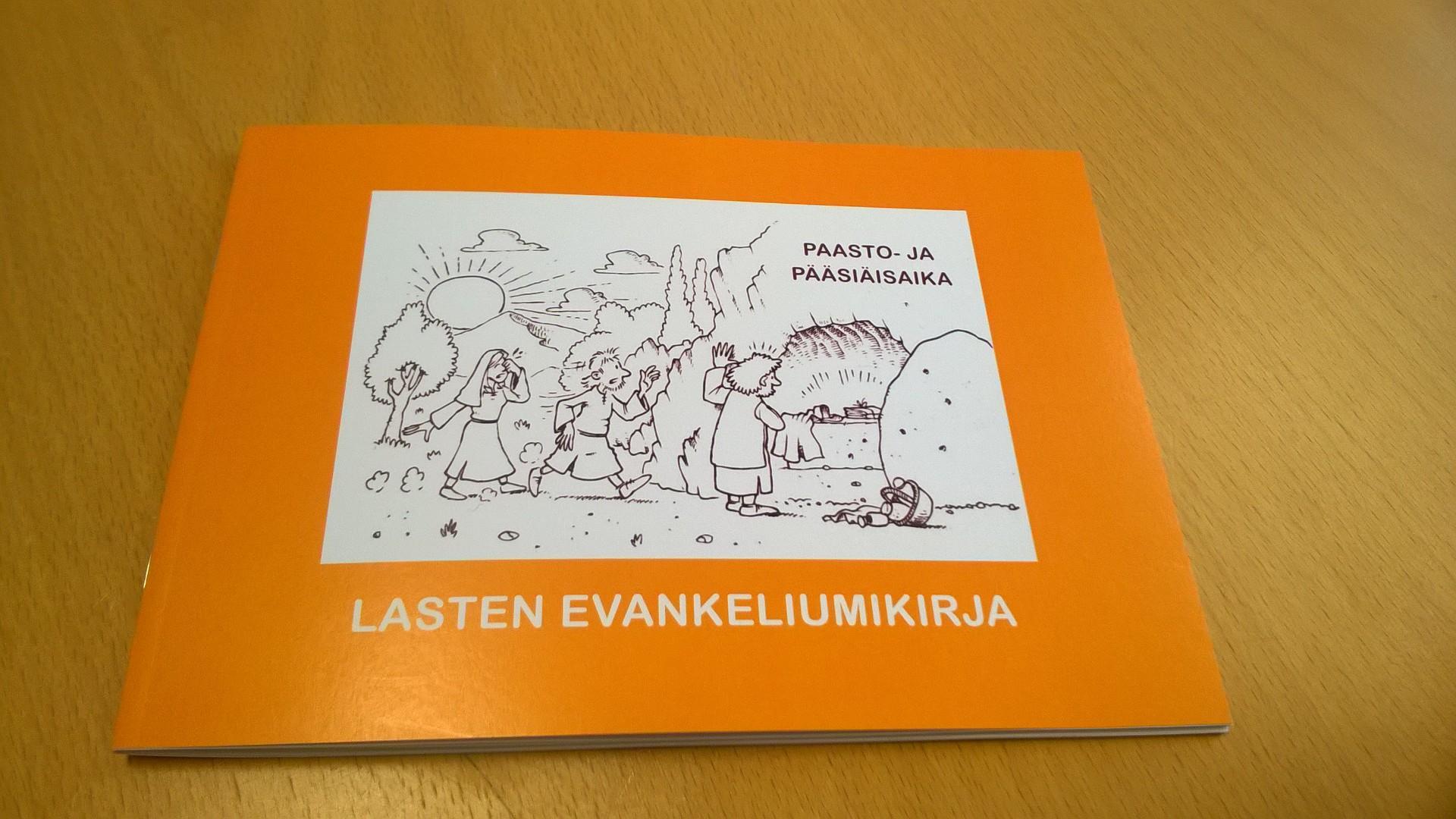 Lasten evankeliumikirja paasto- ja pääsiäisajalle